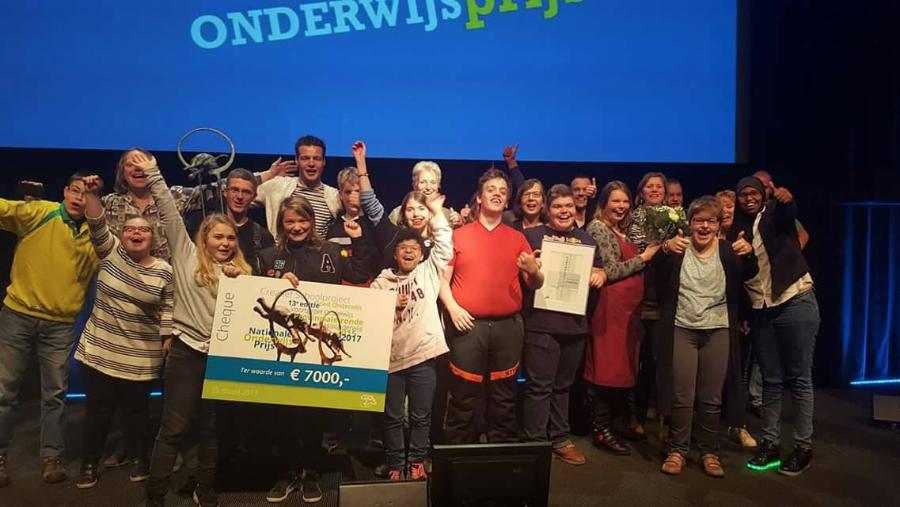 Piet Bakkerschool Wint Nationale Onderwijsprijs!