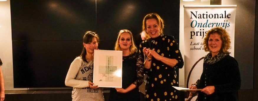 Talryk Wint Derde Prijs Bij Friese Onderwijsprijs